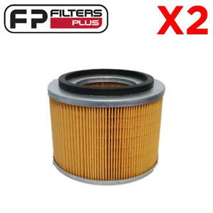 2 x WA1033 Wesfil Air Filter - Nissan Patrol 3.0L & 4.2L - 16546VB300, A1412