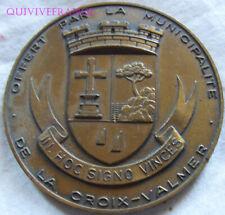 MED8641 - MEDAILLE VILLE DE LA CROIX-VALMER AU COMMANDANT DU DUQUESNE 1986