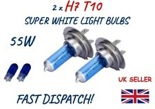 Seat Exeo 3R2 H1 H7 H11 501 55w Clear Xenon High//Low//Fog//Side Headlight Bulbs