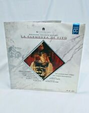 Mozart's 'LA CLEMENZA DI TITO' - Andrew Davis - Laser Disc Set