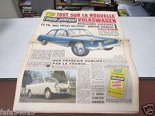 L AUTO JOURNAL N° 268 23 mars 1961 Salon de Genève/ Nouvelle Volkswagen/ D.A.F *