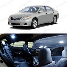 12 x Ultra White LED Interior Lights Kit For 2007 - 2011 Toyota Camry + TOOL