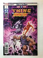 Marvel Two-In-One #5 (Marvel 2018) Thing Human Torch Fantastic Four
