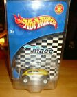 2002 Hot Wheels MACE VW Volkswagen BAJA BUG w/Real Riders Yellow/Black Variation