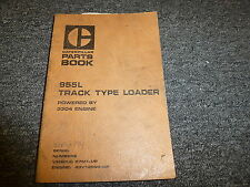 Caterpillar Cat 955L Track Type Loader w/ 3304 Engine Parts Catalog Manual Book