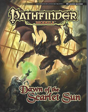 """Dawn of the Scarlet Sun"" Pathfinder Module Dungeons & Dragons RPG D20 D&D NM"