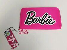 Barbie 60 Anniversary Mattel Hot Pink Large Zip Purse Wallet Primark - BNWT