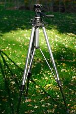 Bogen 3050 Tripod With 3047 3-Way Head And Quick Release Plate *Exellent*