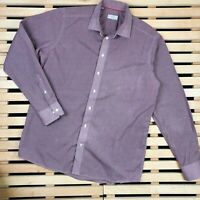 Mens Shirt Long Sleeve Eton Size 17 1/2 (44)