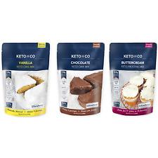 Keto Cake Mixes- Low Carb, Gluten Free, No Added Sugar, Keto Friendly