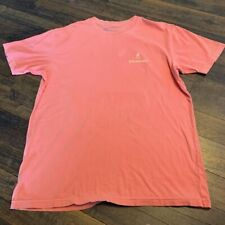 BROWNING  Men's T-shirt , peach, XL ,w/defect: smudge