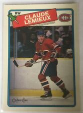 Claude Lemieux (2nd Year card) #227 1988-89 OPC O-Pee-Chee - Montreal Canadiens