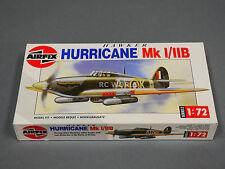 1/72 Air Fix HURRICANE  Fighter Plane  Model  Kit -NEW-  #ooA3