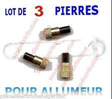 pierre à briquet X 3 pour allumeur de chalumeau VIRAX  oxy ou gaz BP