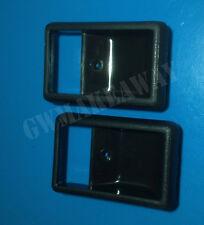 Pair Fits Toyota Land Cruiser BJ60 FJ60 FJ62 Cressida Inner Door Handle Black