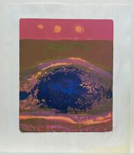 """Julio Micheli, Surface with Openity, Ponce Puerto Rico Art, 20""""x17"""", 1969, 15/20"""