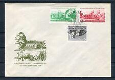 Erstagsbrief DDR Mi.-Nr. 628-630 Landwirtschaftsausstellung 1958 - b4591
