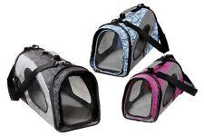 Smart Carry Sac Sac de Transport Nylon Noir 39x21x23 Cm Poche Chiens Chats