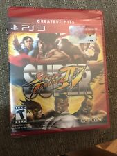 Street Fighter IV Playstation 3 PS3 Greatest Hits Red Cover New Factory Sealed
