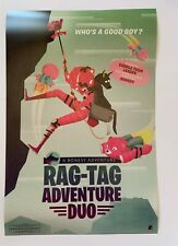 FORTNITE Party Royale Poster Rag-Tag Adventure Duo w/Cuddle Team Leader & Bonesy