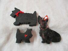 Magnetic Spunky Dogs Scottie Dog Plastic Miniature Vintage Toy Toys