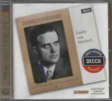 Heinrich Schlusnus - Lieder von Schubert NEW CD