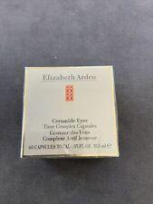Elizabeth Arden Ceramide Eyes Time Complex Capsules 60 Count (Sealed)