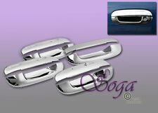 FOR 2002-2009 CHEVY TRAILBLAZER GMC ENVOY CHROME DOOR HANDLE COVER COVERS 2003