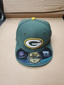 Green Bay Packers NFL New Era 59fifty Youth Size 6 3/8 Hat Cap