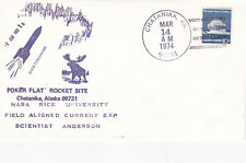 Estados Unidos 1974 Poker Flat cohete sitio Nike-Tomahawk Cubierta unadressed en muy buena condición