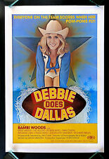 DEBBIE DOES DALLAS * CineMasterpieces ORIGINAL MOVIE POSTER 1978 ADULT RATED X