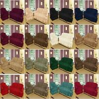 Sofa Slip Covers Jacquard Floral Design Universal Sizes 1, 2, 3 Seater