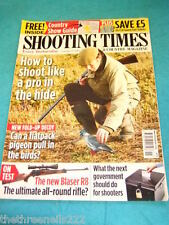 SHOOTING TIMES - BLASER R8 RIFLE - MARCH 17 2010