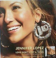 """Jennifer Lopez """"J.Lo-Beautiful,Smil ing Wearing Earrings"""" Australian Promo Poster"""