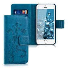 kwmobile Custodia portafoglio per Apple iPhone SE/5/5S - Cover a libro in (S3j)