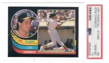 1991 FLEER ALL STAR # 8 JOSE CANSECO PSA 10