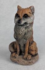 "Soco Gardens Zoo 1995 Fox Figurine 5-1/2"""