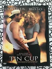 TIN CUP DVD 1997 Kevin Costner RENE RUSSO Golf MOVIE PGA Tour CHEECH MARIN
