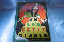 livre un bon petit diable avec illustrations éditions gordinne liège 1936