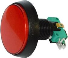 Rojo Redondo 12 V RJS-Lrg-Juego-RND-RED-12V-IP40 52.8 mm gran botón de juego