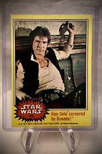 1977 STAR WARS #162 - Han Solo Cornered by Greedo! - Series 3 - Vintage Card