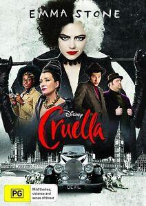 Cruella (DVD), NEW SEALED AUSTRALIAN RELEASE REGION 4