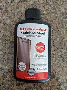 Lot of 3 Kitchen Aid Stainless Steel Cleaner and Polish 2 oz.