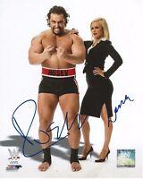 Rusev & Lana Signed WWE Photofile 8x10 Photo