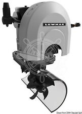 LEWMAR Marine Boat Bow Thruster Kit w/ Control Panel/Cable/Fuse/Tunnel 12V 4kW