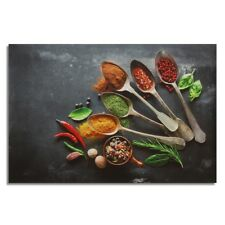 Unframed Kitchen Canvas Oil Painting Poster Print Home Decor Wall Art Picture WE