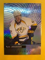 2017-18 Upper Deck Trilogy Blue Parallel #12 Ryan Johansen 793/999 Nashville