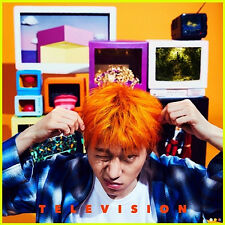 BLOCK B ZICO [TELEVISION] 2nd Mini Album CD+POSTER+Booklet+12p Card+Sticker+Toy