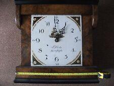 HOODED WALL CLOCK JOHN DARKE BARNSTAPLE CIRCA 1810 .