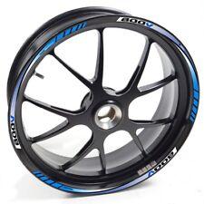 ESES Pegatina llanta Honda VFR 800 VFR800 Azul adhesivo cintas vinilo